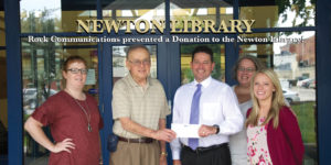 newton library corporate giving